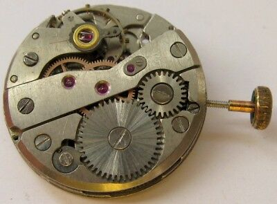 used Savoie P62 watch movement 17 jewels for parts