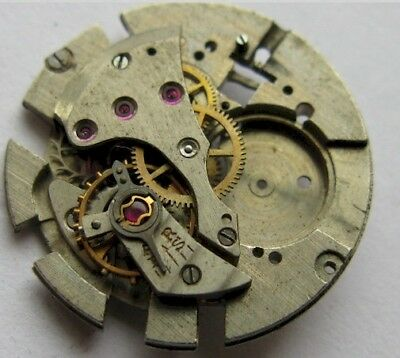 used F Felsa 382 17 jewels watch movement for parts