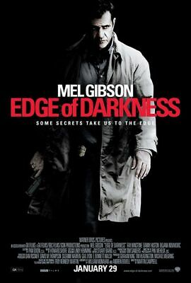 Edge Of Darkness Mel Gibson Adv Original Movie Poster