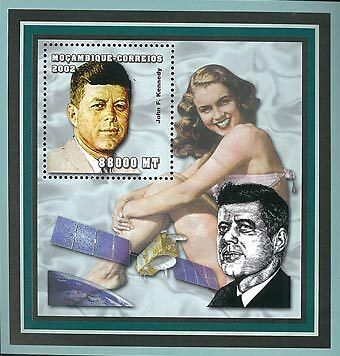 Mozambique 2002 Stamp John F. Kennedy Important People