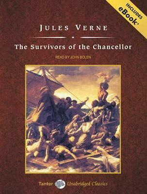 The Survivors of the Chancellor by Jules Verne Compact Disc Book (English)