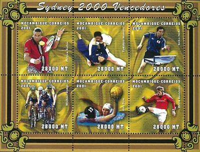 Mozambique 2001 Stamp, Olympic 2000 Sydney, Sport 4