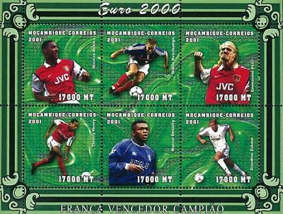 Mozambique 2001 Stamp, World Cup 2002 Football Sport 11