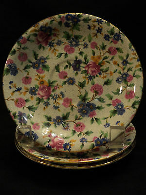 "BEAUTIFUL ROYAL WINTON ""OLD COTTAGE CHINTZ"" SAUCER"