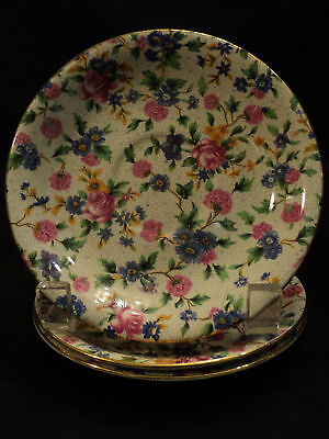 """Beautiful Royal Winton """"old Cottage Chintz"""" Saucer"""