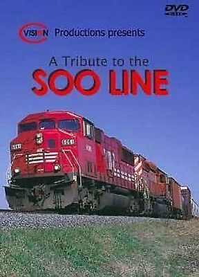 A Tribute To The Soo Line Cvision DVD NEW