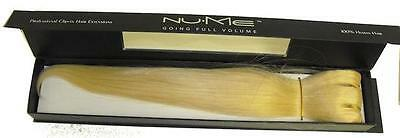 Nume Clip In Hair Extensions BL100 Blonde + Hair Jewels
