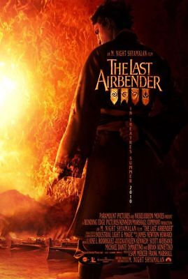 The Last Airbender Shyamalan Original D/s Movie Poster
