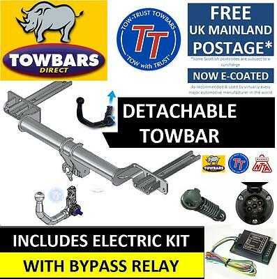 Detachable Towbar for 5 Series M Sport E60 Saloon Estate 2003 to 2010 inc Bypass