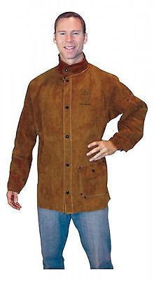 Tillman 3830 X-Large Dark Brown Leather Welding Jacket (3830XL)