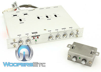 Kw 4V8 Rainbow 4 Channel Pre-Amp Crossover Line Driver 5.5  Volts Output New