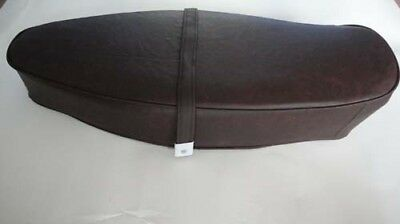 Vespa long dual bench seat saddle dark BROWN COVER VBC VLB GL V8294
