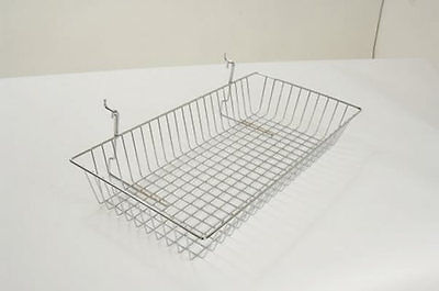 New Mesh Slat Wall Slatwall Wire Display Panel Basket