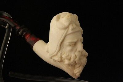 SABLE HEAD HUNTER  Meerschaum Pipe by E. CEVHER 1702
