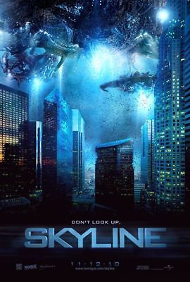 SKYLINE Eric Balfour ORIGINAL DOUBLE SIDED MOVIE POSTER