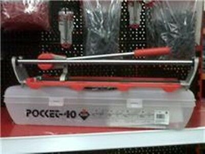 """Rubi Pocket 40 Manual Tile Cutter with Carry Case max cutting length 42cm/17"""""""