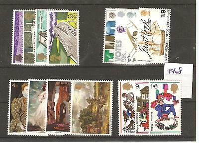 Gb - Commems - 1968 - Four  Unmounted  Mint Sets