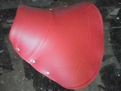 Vespa solo driver seat saddle RED COVER VBA VBB VNA VNB