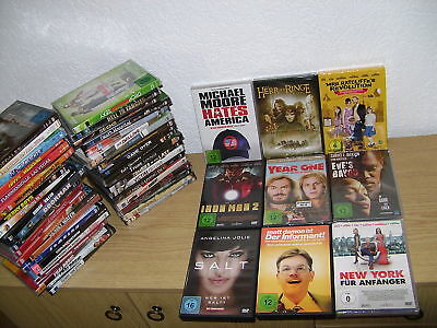 50 DVD'S Sammlung,Salt,Iron Man 2,Der Informant