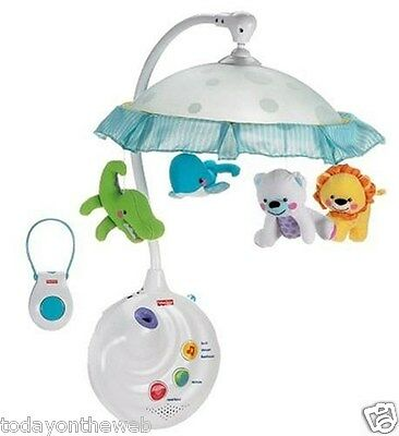 Fisher Price Precious Planet 2 in 1 Projection Mobile