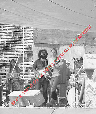 GRATEFUL DEAD 1972 USA TOUR RARE TWO 5x5 JERRY & BOB