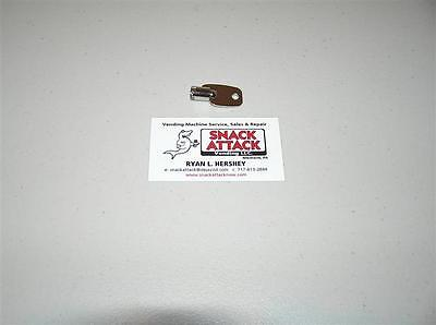 VENDSTAR 3000 BACK DOOR TUBULAR KEY #0190 - New / Free Ship!