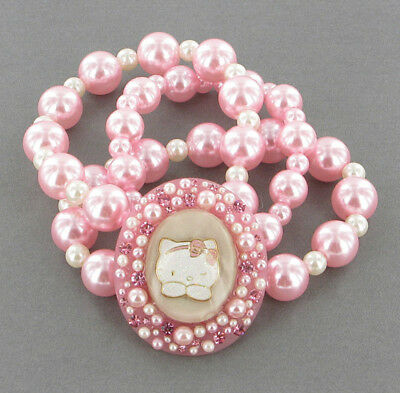 BRACCIALE HELLO KITTY RIBBON CAMEO PINK - 30 %