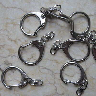 Lot 50 Key Chains with Swivel Connectors Hook