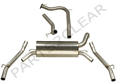 Piper Sport Performance Exhaust Cat Back For Honda Civic Type R Fn2 07-
