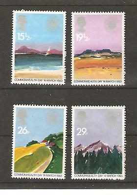 Commonwealth Day - 1983 Unmounted. Mint Set
