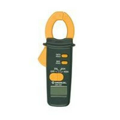 Greenlee Cm-330 Clamp On 600 Voltage Ac Amp Meter Electrical Tester 9982463