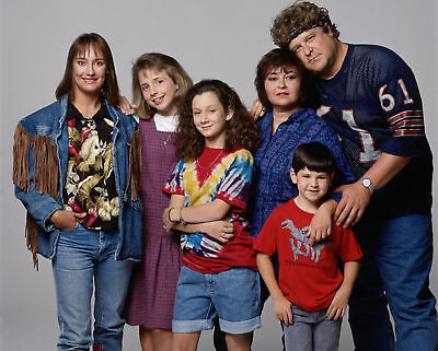 """The Cast of """"Roseanne Show""""- 8x10 Photo"""