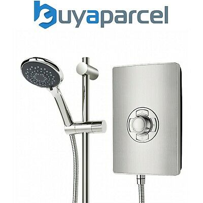 Triton ASPIRANTE 9.5KW BRUSHED STEEL Electric Shower ++