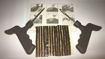 Car Tyre  Puncture Repair Kit With 15 Strips