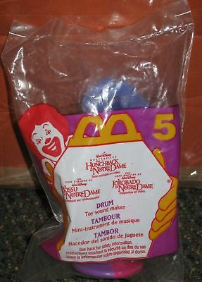 1996 Hunchback of Notre Dame McDonalds Happy Meal Toy - Drum #5