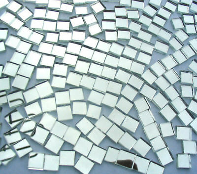 50  Mosaic MIRROR Tiles 1cm x 1cm Great Highlights Crafts