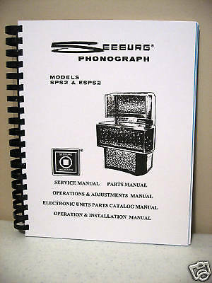 Seeburg Model SPS2 & ESPS2 Jukebox Manual