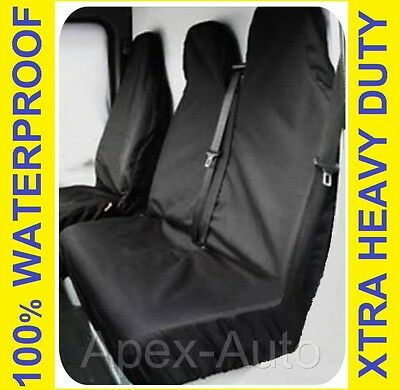 FORD TRANSIT LUTON Van Seat Covers LWB MWB SWB  100% WATERPROOF Custom