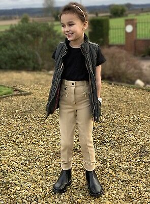 CHILDRENS COTTON HORSE RIDING JODHPURS  childs jodphurs