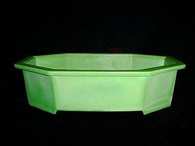 Rare Westite Lime Green Japanese Planter Museum Quality