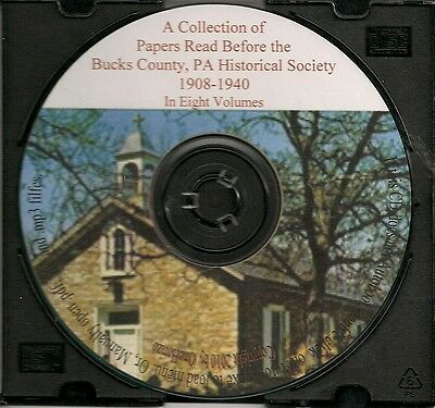 Bucks County PA Collection of Historical  Papers