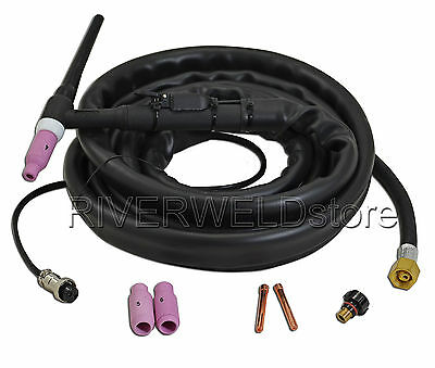 WP17 SR-17  TIG Welding Torch Completed Gas Cooled 4 Meters