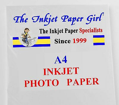A4 200g High Glossy Classic Photo Inkjet 25 sheets