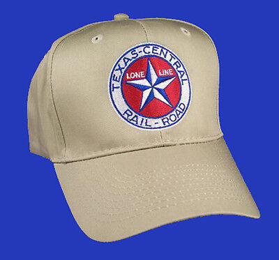 Texas Central Railroad Embroidered Cap Hat 40-5800K