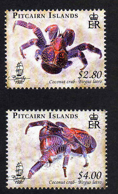Pitcairn Is.2009 Coconut Crab Set Sg 776-777 Mnh.