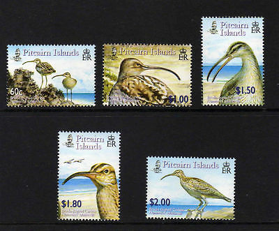 Pitcairn Is.2005 Curlew Set Sg 694-698 Mnh.