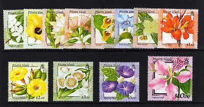 Pitcairn Is.2000 Flowers Set Sg 564-575 Mnh.