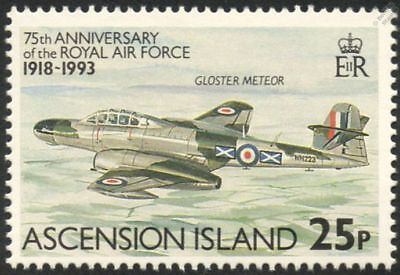 RAF GLOSTER METEOR F.4 WWII Fighter Aircraft Stamp