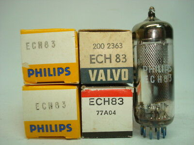 Ech83 = Ech81 = 6Ds8 Tube. Mixed Brands. Nos / Nib. Rc170