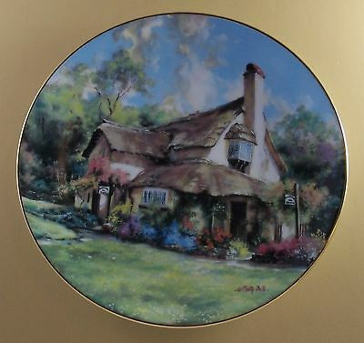 English Country Cottages THE PERIWINKLE TEA ROOMS Plate